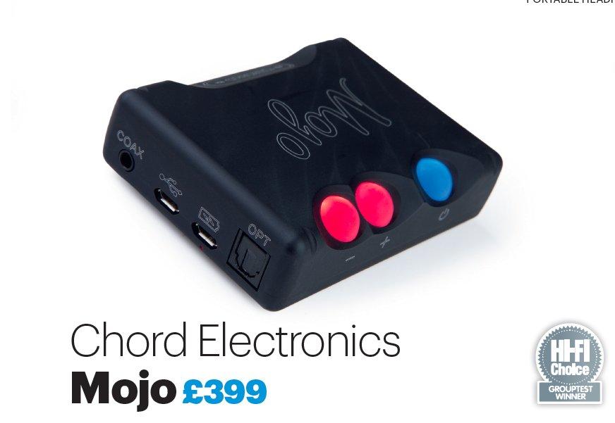 Mojo побеждает в сравнительном тесте ЦАПов Hi-Fi Choice