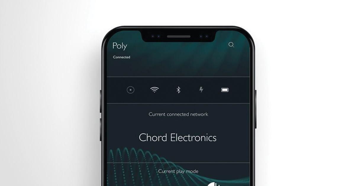Вышла новая версия ПО для Chord Poly — 2.0.4